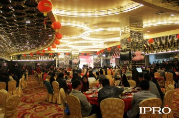 In the night of Jan.15th , the Spring Festival evening party of IPRO 2014 was grand held in Shuidou Holiday Hotel( 5-star)